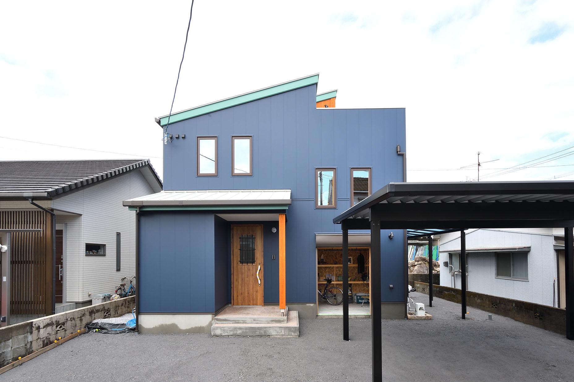 屋上+ガレージを楽しむお家「Earth Park」in延岡