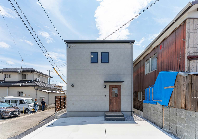 小さな土地でも楽しく暮らすコンパクトハウス in 延岡